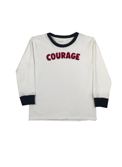 COURAGE remera