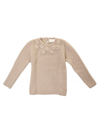LUPE sweater flores bordadas