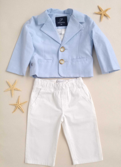 LOOK SALE BABY BOY PHILLY conjunto de pantalon y blazer