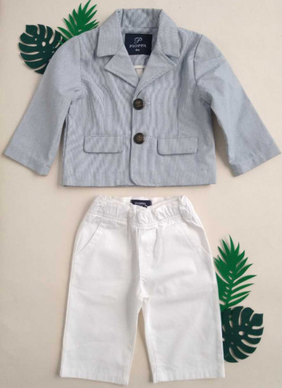 LOOK SALE BAY BOY FILO conjunto de blazer y pantalon