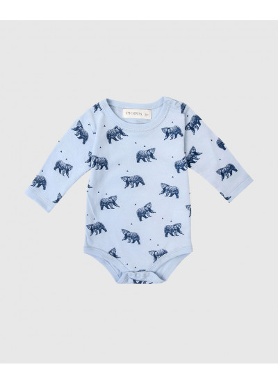 BEAR PC body de jersey estampado