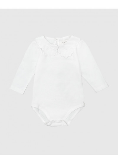 MATILDA body de jersey bordado