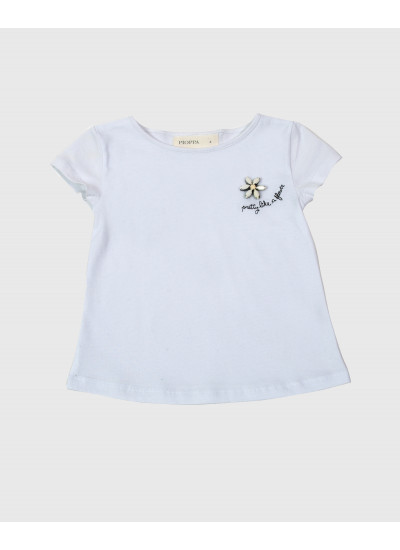 PRETTY remera aplique